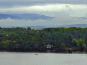 Fishing-Boat, Vermont-Shore