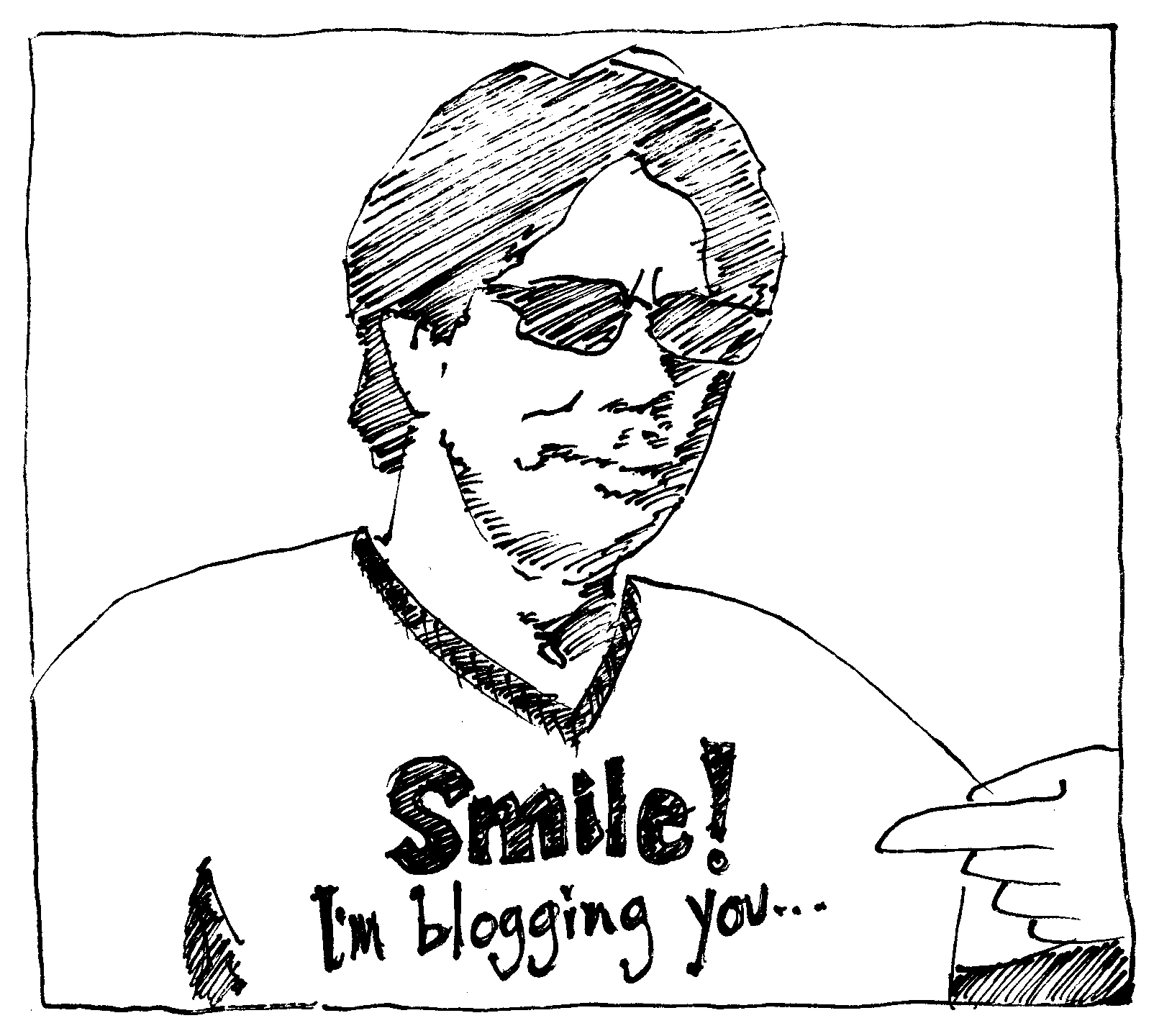 Smile! I'm blogging you... (image of and by virtualDavis)