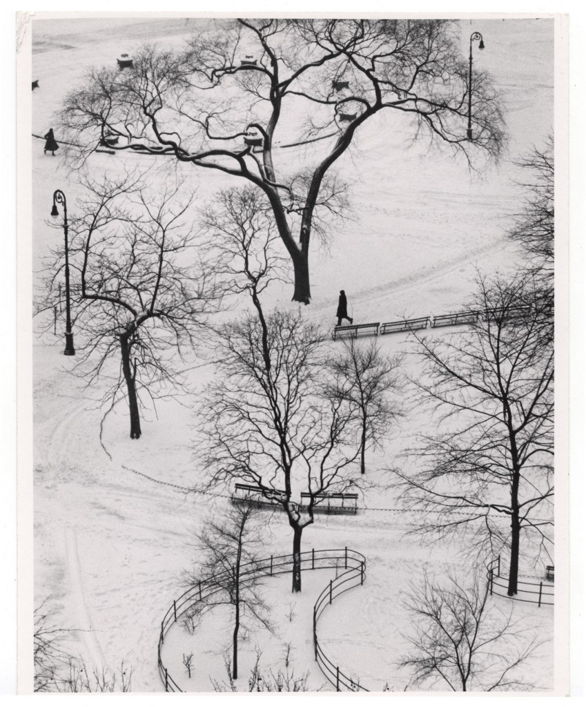 Washington Square by Andre Kertesz