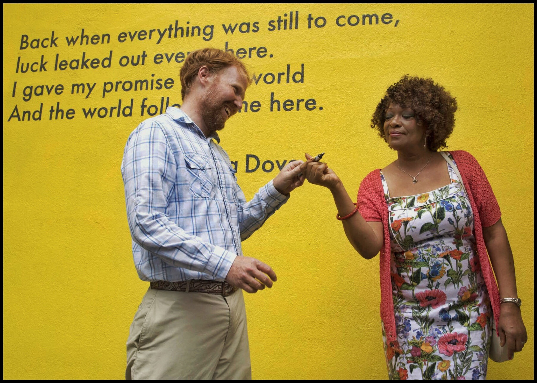 Rita Dove and David Guinn (Source: Virginia.edu)